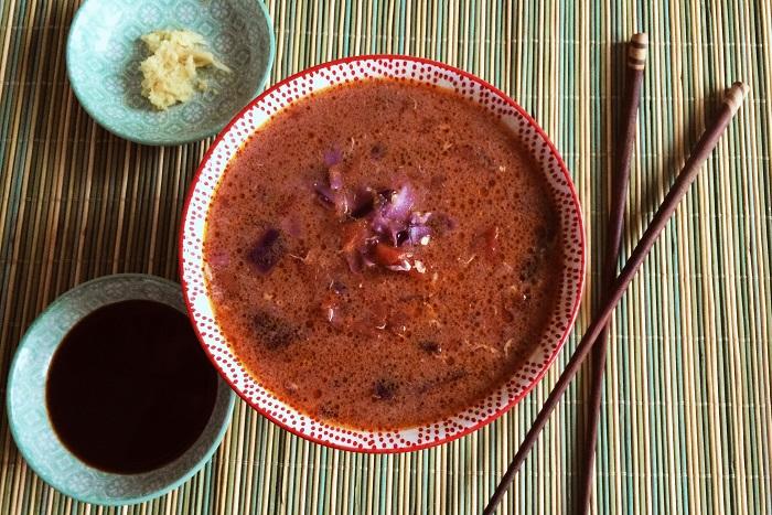 Zdravé vaření: Asijská polévka