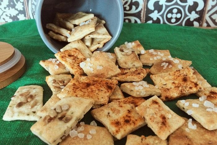 Zdravé vaření: Domácí křupavé krekry