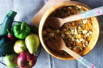 Zdravé vaření: Dýňovo-špaldový salátek