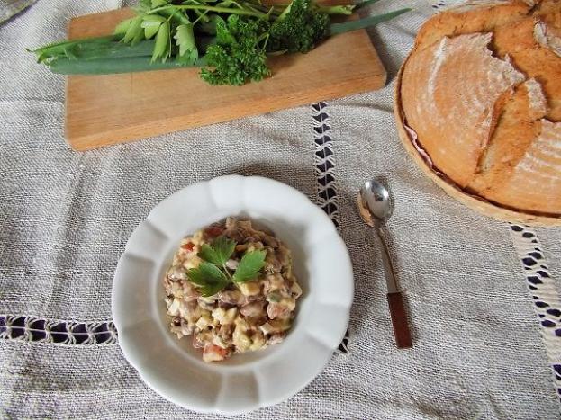 Zdravé vaření: Fazolový salát s avokádem