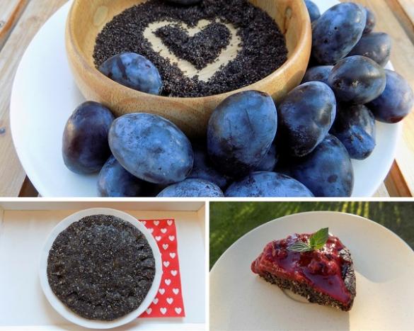 Zdravé vaření: Makovo-švestková raw dobrota