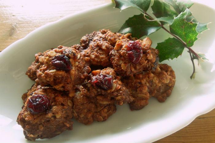 Zdravé vaření: Skořicové hrudky s brusinkami