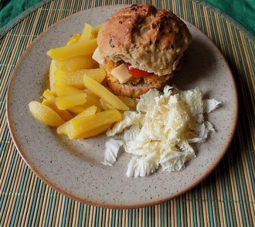 Zdravé vaření: Vegeburger ve špaldové bulce