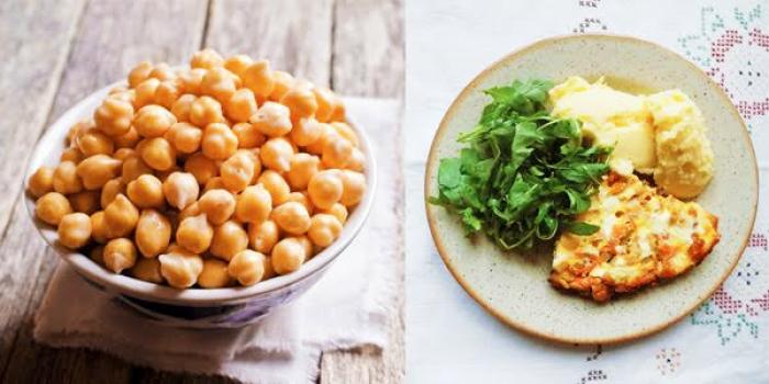 Zdravé vaření: Zapečená cizrna s kari