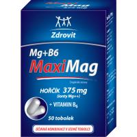 ZDROVIT MaxiMag Hořčík 375 mg + vitamin B6 50 tobolek