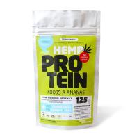 ZELENÁ ZEMĚ Konopný protein kokos s ananasem 125 g