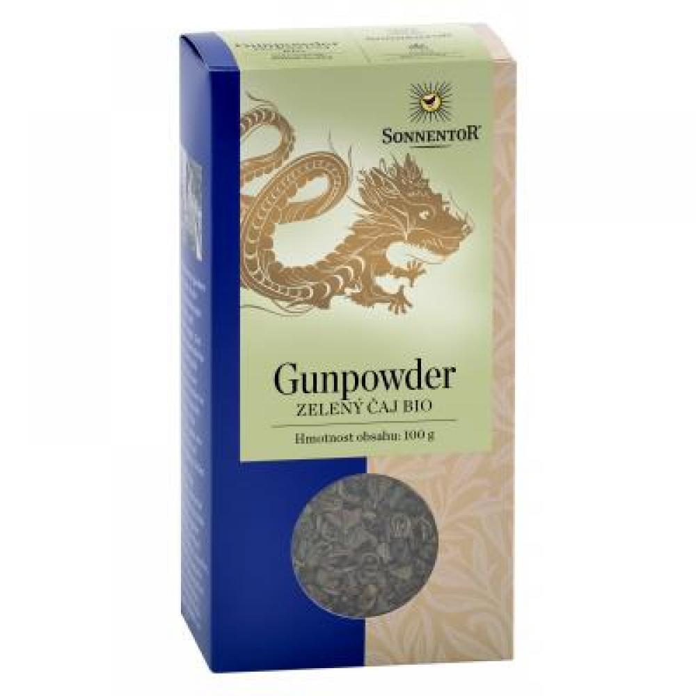 Sonnentor Zelený čaj Gunpowder bio sypaný 100 g