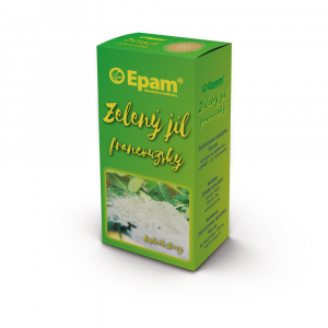 EPAM Zelený jíl francouzský prášek 170 g