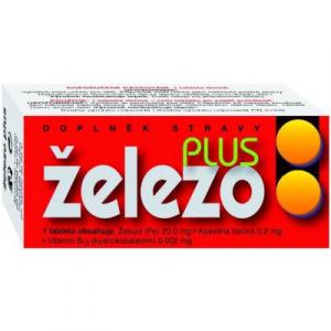 NATURVITA Železo plus 60 tablet
