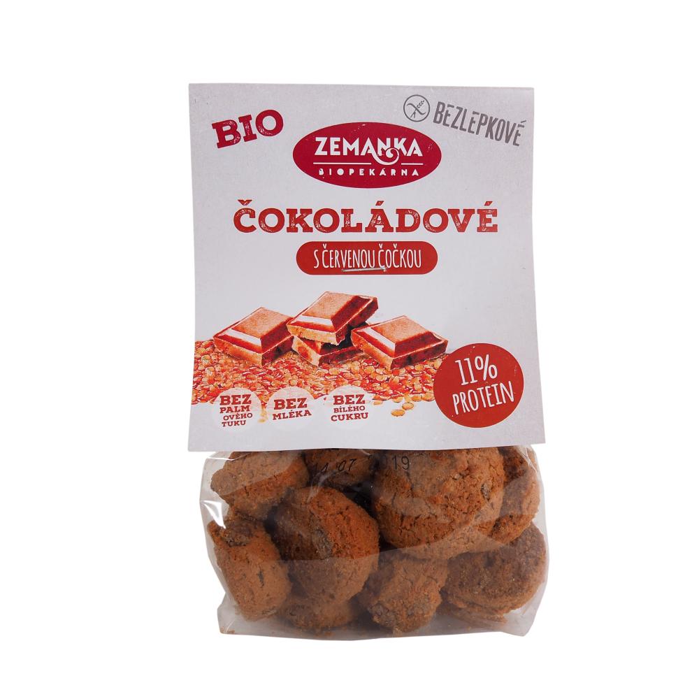 ZEMANKA Bezlepkové čočkové hrudky s kokosem a čokoládou BIO 100 g