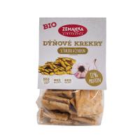 ZEMANKA Krekry s dýňovým semínkem a česnekem BIO 100 g