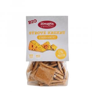 ZEMANKA Krekry se sýrem a slunečnicí BIO 100 g
