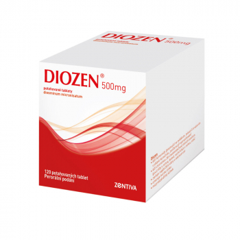 DIOZEN 500 mg 120 tablet