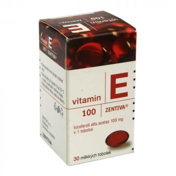 ZENTIVA Vitamin E 100 mg 30 tobolek