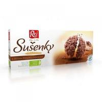 REJ Žitné sušenky celozrnné Kakaové 6 ks