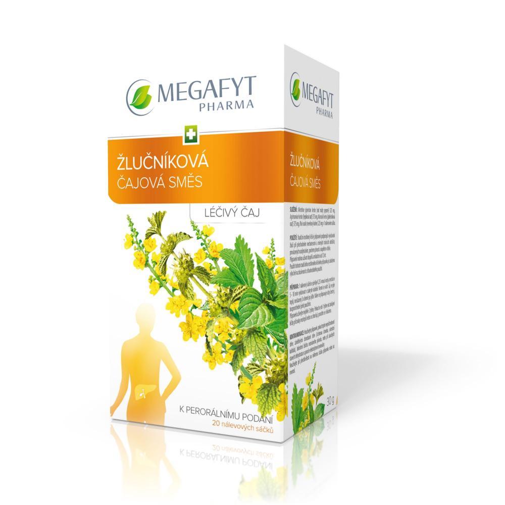 ŽLUČNÍKOVÁ ČAJOVÁ SMĚS 20X1.5GM Léčivý čaj