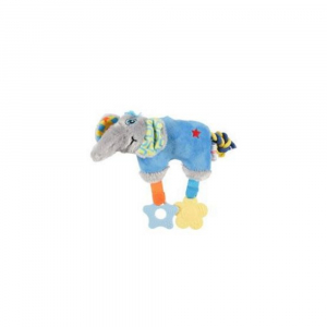ZOLUX Hračka pes ELEPHANT COLOR plyš modrá 20 cm