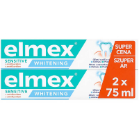 ELMEX Sensitive Zubní pasta Whitening 2x 75 ml