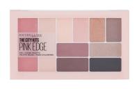MAYBELLINE The City Dekorativní kazeta Eye + Cheek Palette Pink Edge 12 g