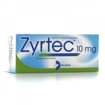 ZYRTEC 10 mg 20 potahovaných tablet